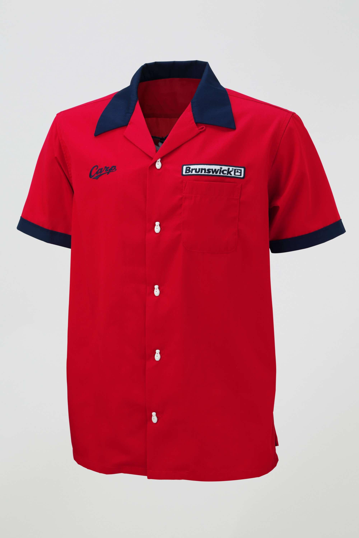 「Carp × Brunswick」コラボレトロボウリングシャツ