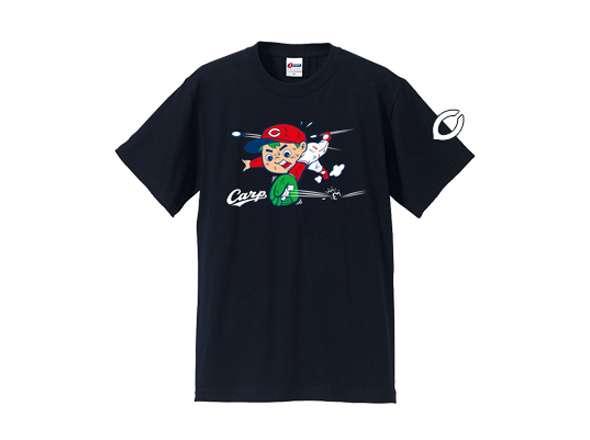 カープ坊や×J SPORTSコラボ 「ノック坊やTシャツ」