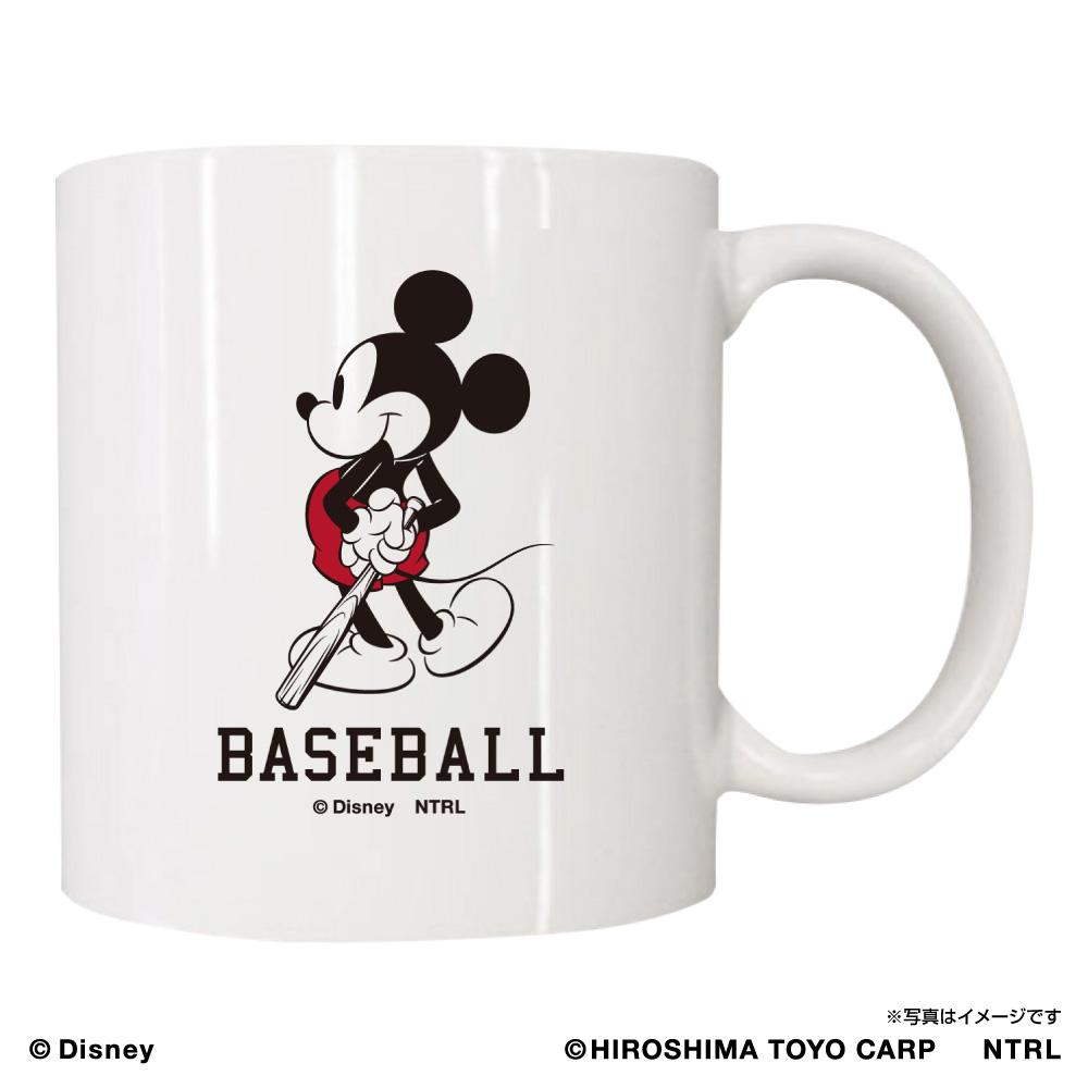 21ミッキーマウス(BASEBALL)/広島東洋カープ マグカップ