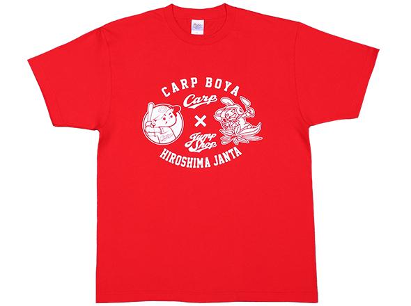 『ジャンタ』Tシャツ 広島東洋カープ×JUMP SHOPコラボ JUMP SHOP限定Tシャツ