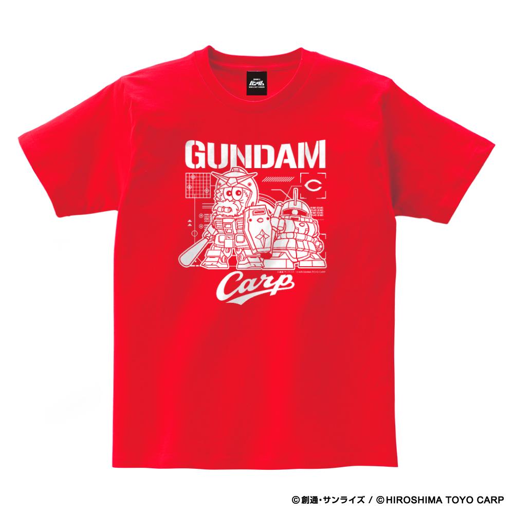 ガンダム×カープ Tシャツ(マスコット)