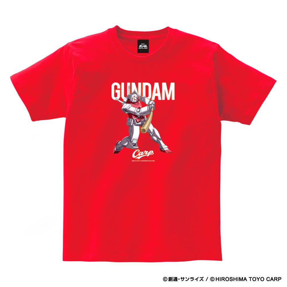 ガンダム×カープ Tシャツ