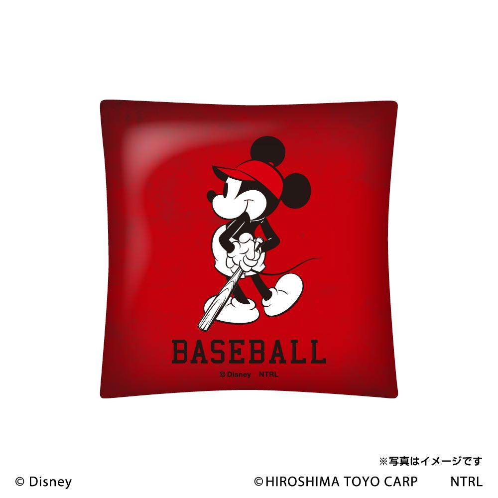 21ミッキーマウス(LET'S PLAY)/広島東洋カープ クッション