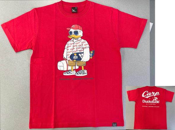 ダックデュードコラボ半袖Tシャツ(ガラシャツ)