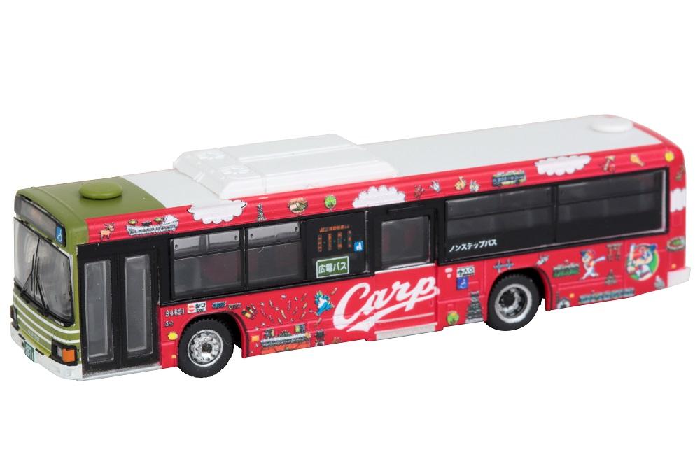 ザ・バスコレクション 広島電鉄 広島東洋カープラッピングバス