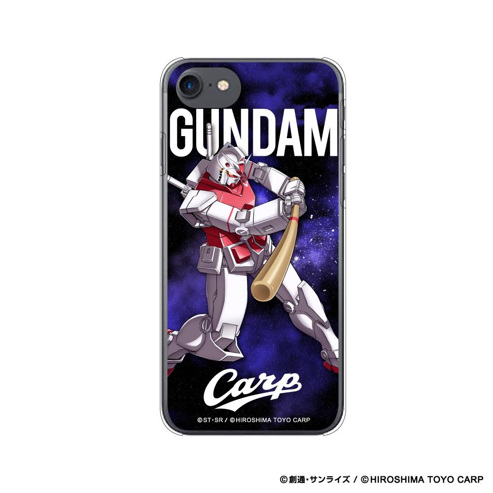 ガンダム×カープ iPhoneクリアケース6/6s/7/8用