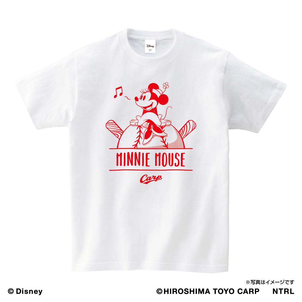 21ミニーマウス(HUMMING)/広島東洋カープ Tシャツ キッズ