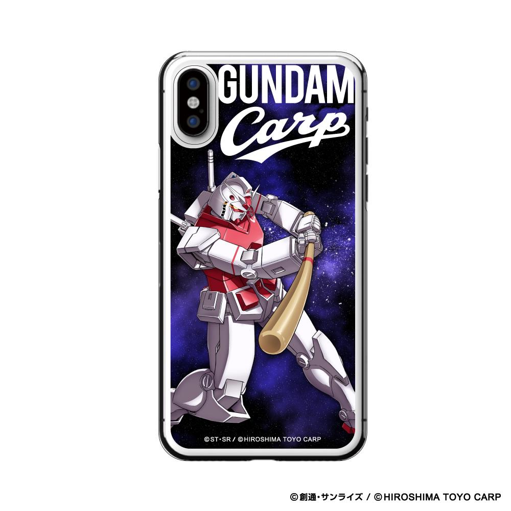 ガンダム×カープ iPhoneクリアケースX/XS用