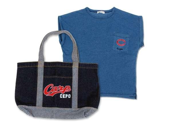 カープ×CepoコラボTシャツ&デニムトートセット
