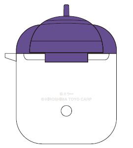 エヴァンゲリオン×カープ AirPodsケース