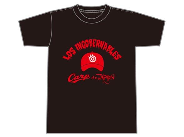 広島東洋カープ×内藤哲也コラボV9 Tシャツ」(ブラック)/(レッド)