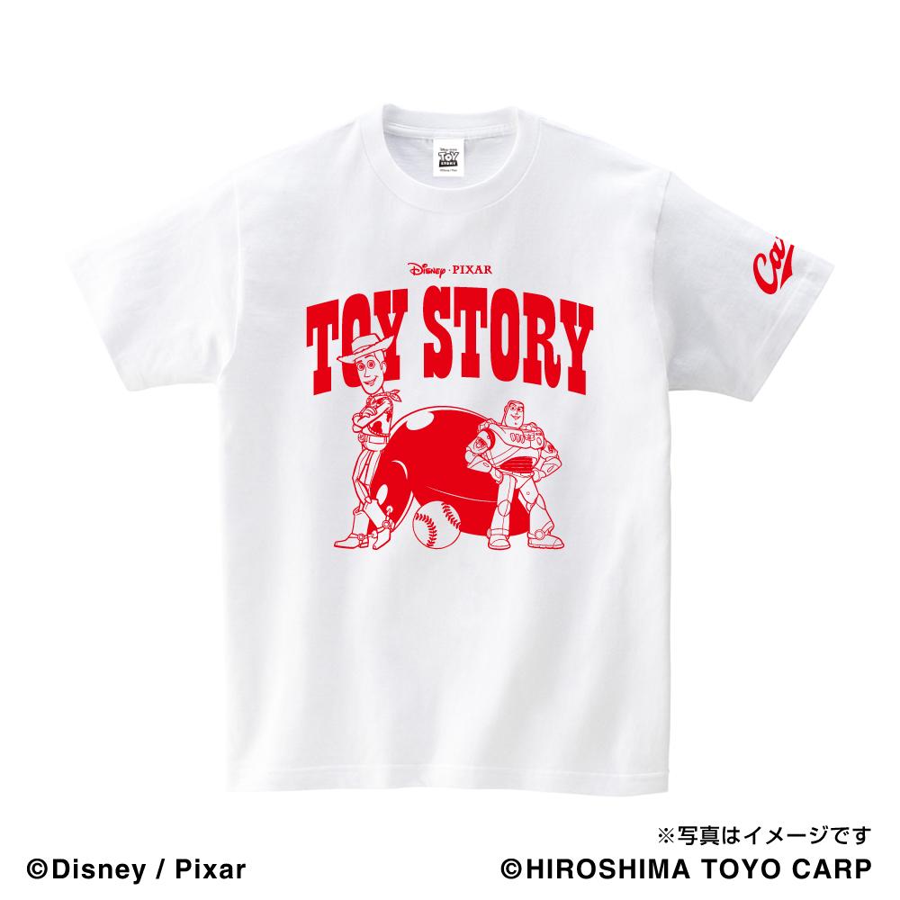 トイ・ストーリー(WOODY&BUZZ)/広島東洋カープ Tシャツ アダルト
