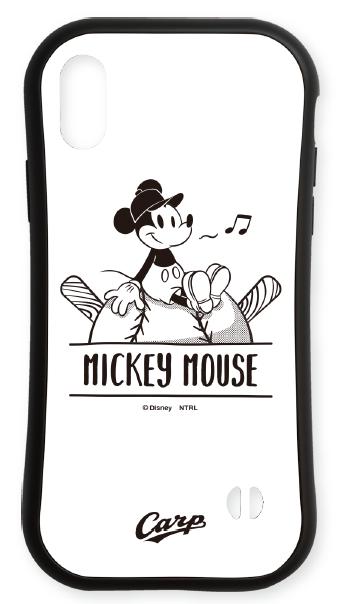 ミッキーマウス×カープ ラバーエッジiPhoneケース