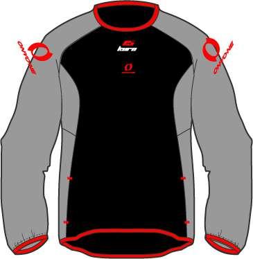 KURO15 インナーフリースプルオーバーシャツ
