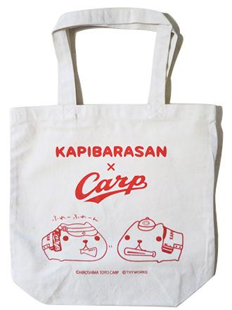 カープ×カピバラさん トートバッグ