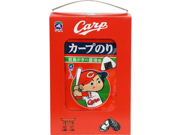 カープのり宮島かき醤油味10袋