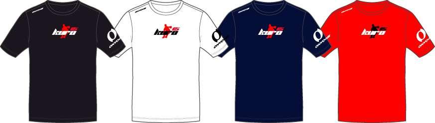 KURO15 シルエットTシャツ