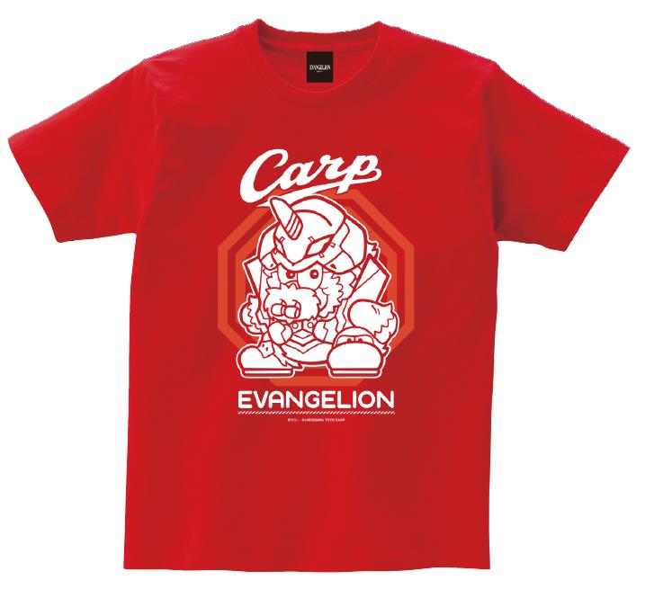 エヴァンゲリオン×カープ Tシャツ(マスコット)