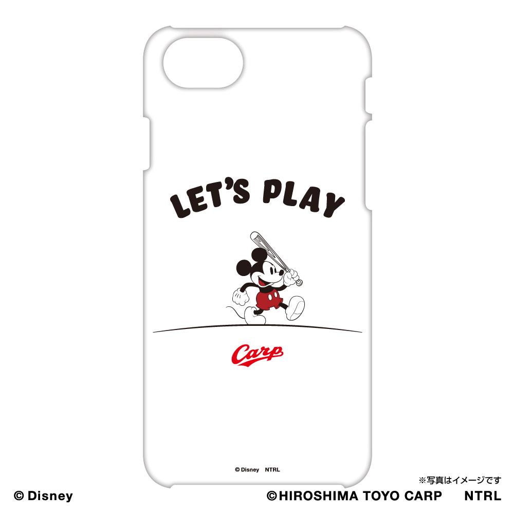21ミッキーマウス(LET'S PLAY)/広島東洋カープ iPhoneケース