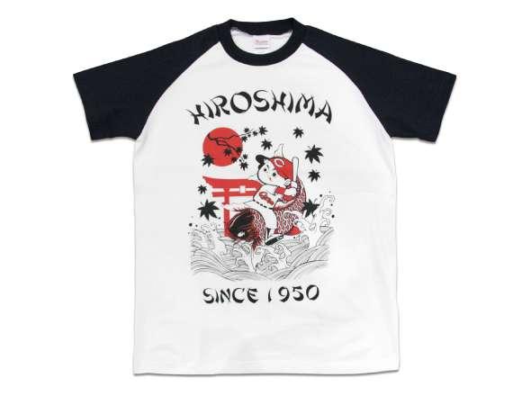 鯉坊やラグランTシャツ