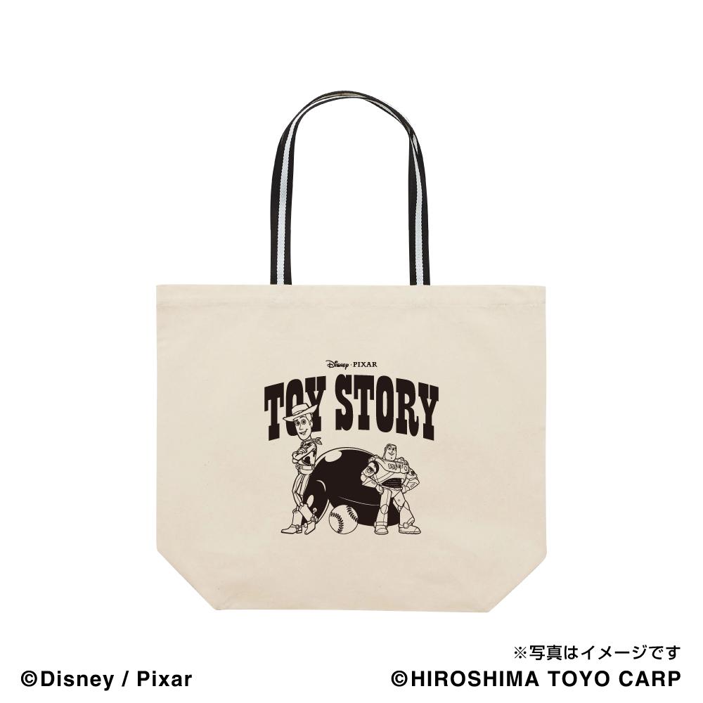 トイ・ストーリー(WOODY&BUZZ)/広島東洋カープ トートバッグ