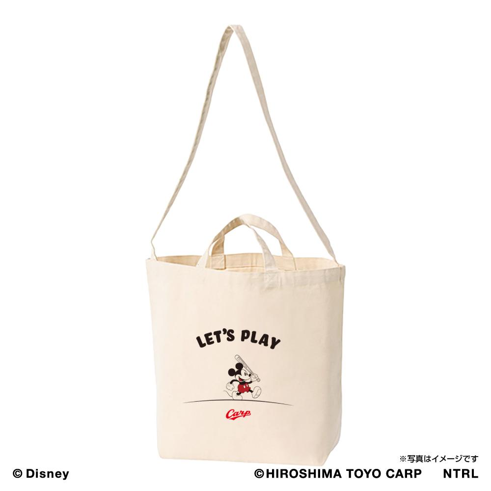 21ミッキーマウス(LET'S PLAY)/広島東洋カープ ショルダートート