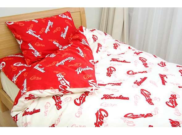 広島東洋カープ リバーシブル掛け布団カバー シングルロングサイズ(150×210cm)