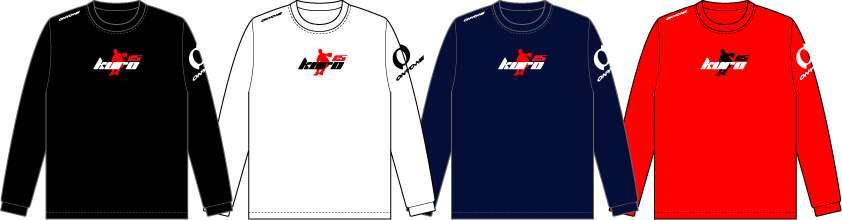 KURO15 シルエットロングTシャツ
