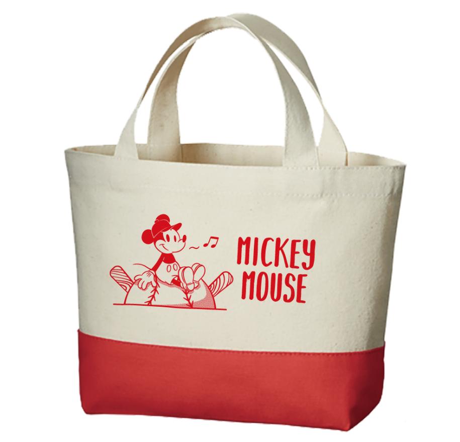 ミッキーマウス×カープ ランチバッグ