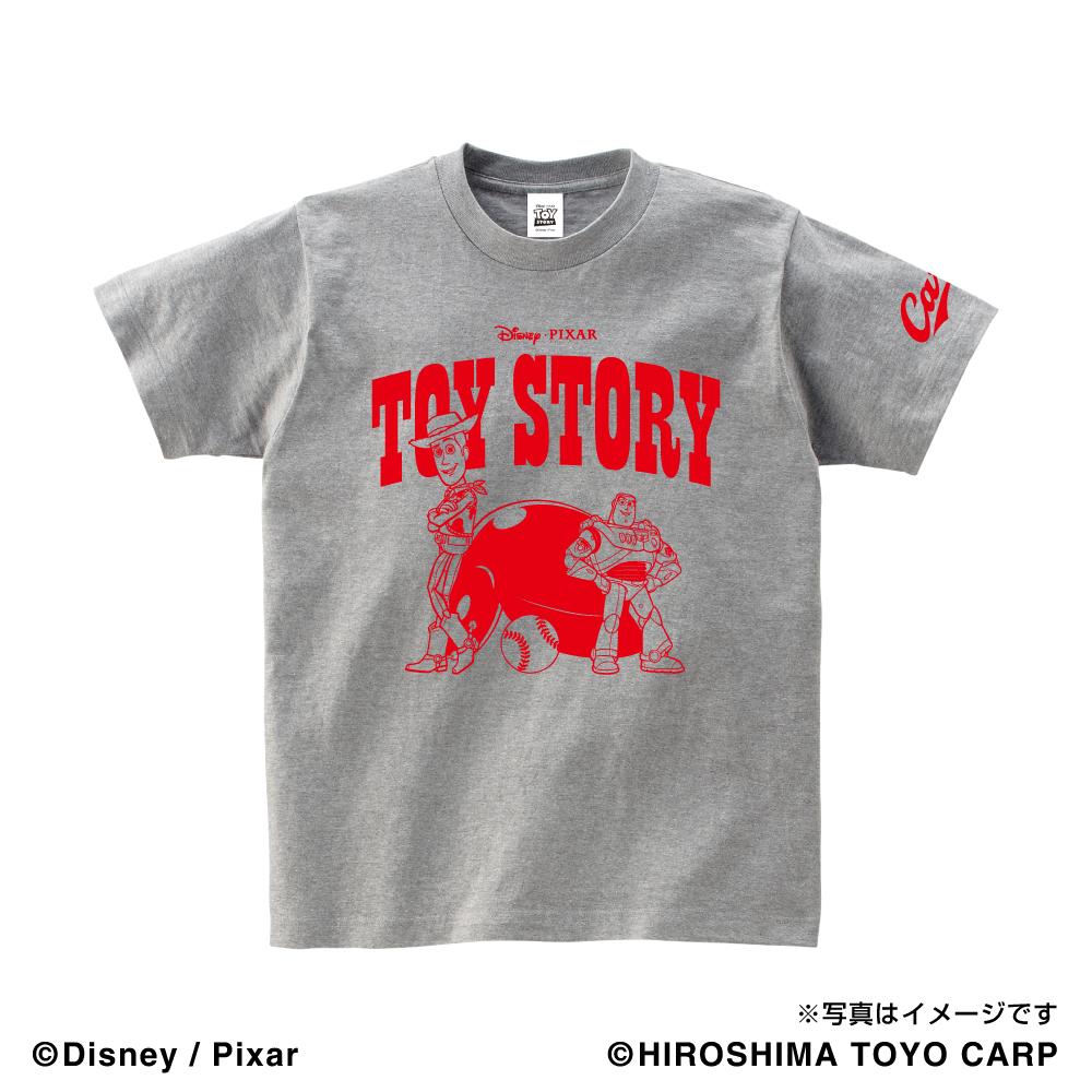 トイ・ストーリー(WOODY&BUZZ)/広島東洋カープ Tシャツ キッズ