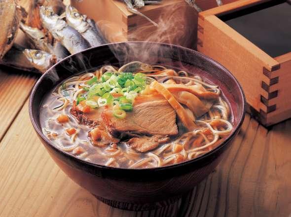 カープ尾道ラーメン男気黒スープ1食袋