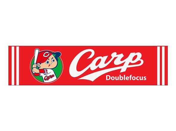 Carp×ダブルフォーカス マフラータオル
