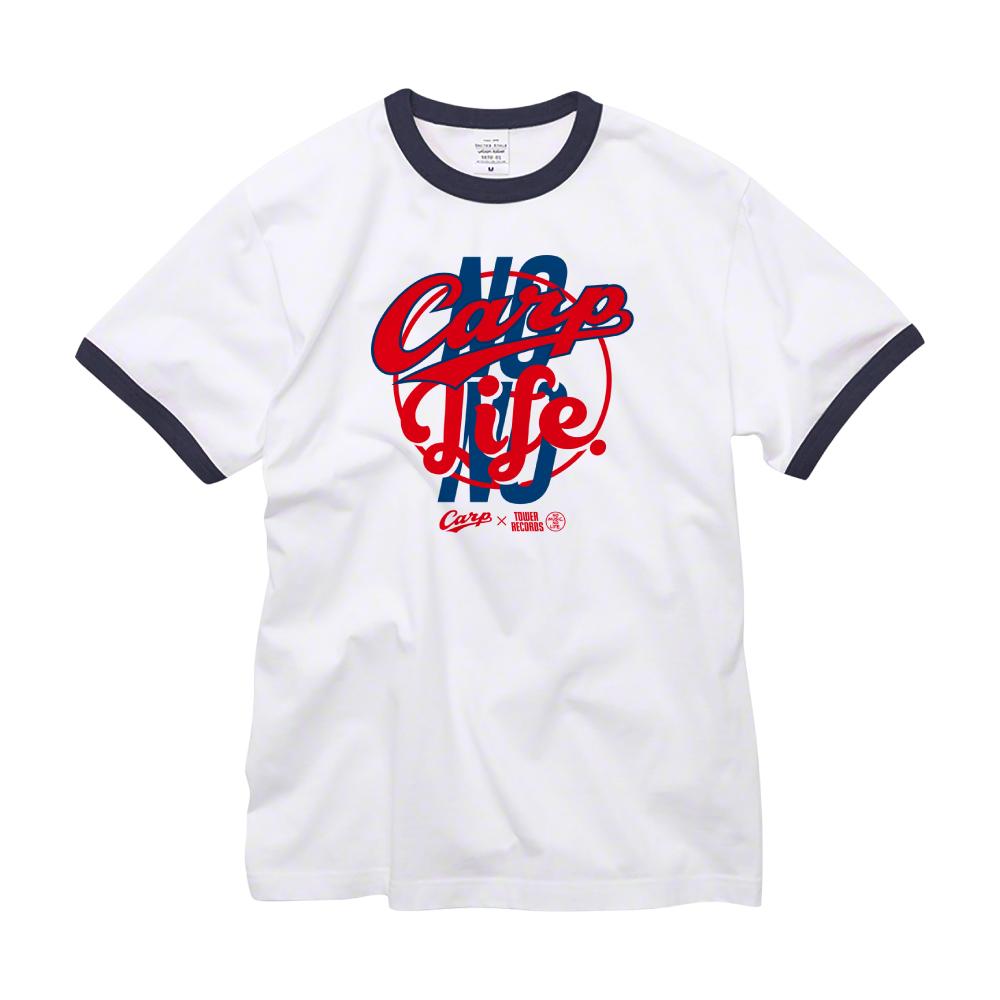 NO CARP, NO LIFE. 2019 Ringer T-shirts